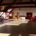 intérieur salle communale